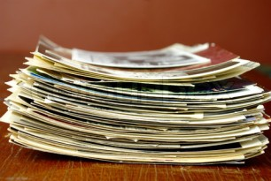stack of old paper